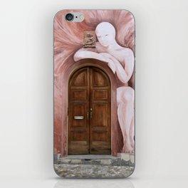 Door of Dozza iPhone Skin
