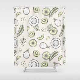 Exotic Fruits Shower Curtain