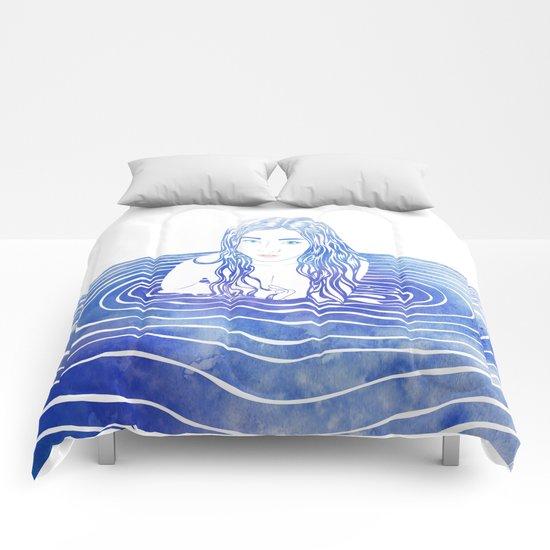 Water Nymph LIII Comforters