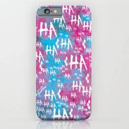 HQ: HA HA HA [VER 2.0] iPhone Case