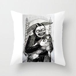 Favourite Doll\Finally Home Throw Pillow