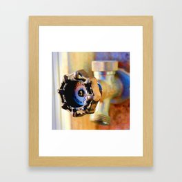 Turn me On Framed Art Print