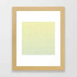 Eastern Breeze Pillow Framed Art Print