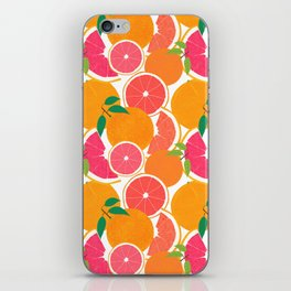 Grapefruit Harvest iPhone Skin