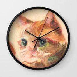 My Lovely Little Kitten Wall Clock