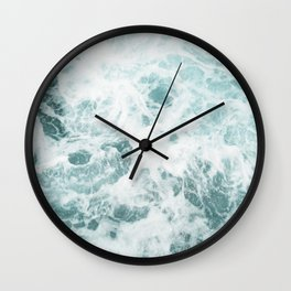 Rough Ocean Wall Clock