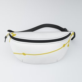 Pisces (Gold & White) Fanny Pack
