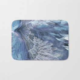 on wings Bath Mat