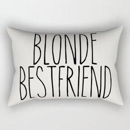 Blonde Best Friend Rectangular Pillow