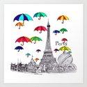 Travel with Umbrella by karenaruba