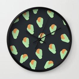 Florals I Wall Clock