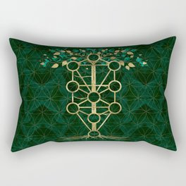 Kabbalah The Tree of Life - Etz Hayim Rectangular Pillow