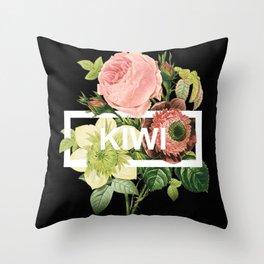 Harry Styles Kiwi Art Throw Pillow
