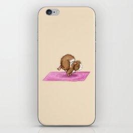 Yoguineas - Crane Pose iPhone Skin