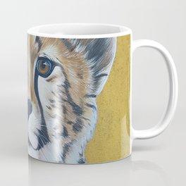 Cheetas, acrylic on canvas Coffee Mug