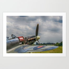 Covers Off Hawker Hurricane Art Print