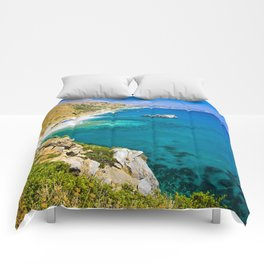 Landscape on Crete Comforters