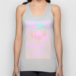 Hello Miami Sunrise Unisex Tank Top
