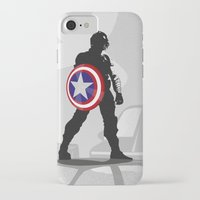 bucky iPhone & iPod Cases featuring Bucky Barnes by Samantha Panther