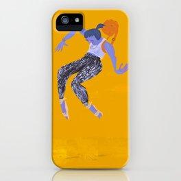 Purple Girl iPhone Case