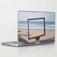 frame Laptop & iPad Skins featuring Frame on a frame by fofiane