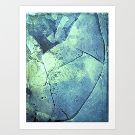Winter Fragments Art Print