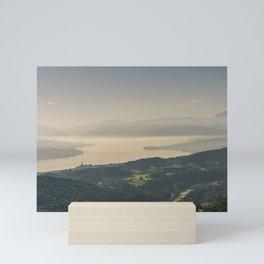 Zuerichsee Mini Art Print