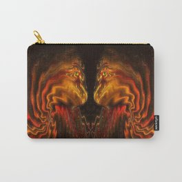 Face to Face. Carry-All Pouch
