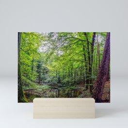 Forest Landscape Mini Art Print