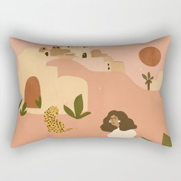 I want to go to Marrakech Rectangular Pillow