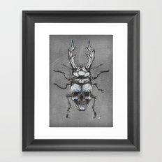 Beetleskull Framed Art Print