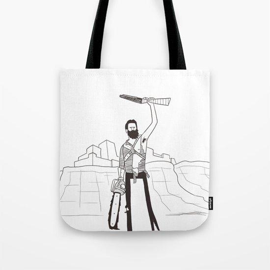 Hail to the Beard, baby Tote Bag