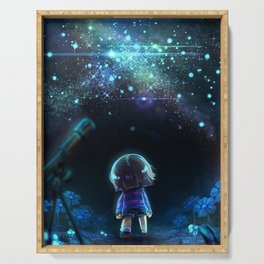 Starry (Night) Undertale Serving Tray