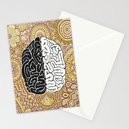 Big Brain ! Stationery Cards