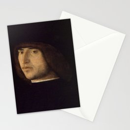 Giovanni Bellini - Portrait of a Young Man Stationery Cards