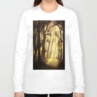 forrest Long Sleeve T-shirts featuring The forrest by Richard Eijkenbroek