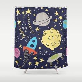 Gagarin Shower Curtain