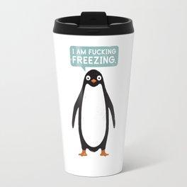 Talking Penguin Travel Mug
