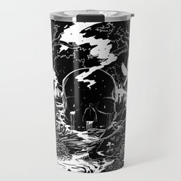 XIII - Death Card (Shadow Light Tarot) Travel Mug