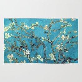 almond blossom van gogh Rug