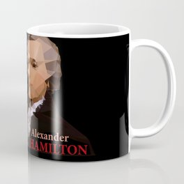 Alexander Hamilton, Triangulated Coffee Mug