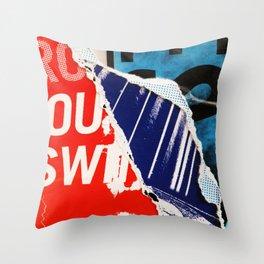 Pulp Fiction Throw Pillow