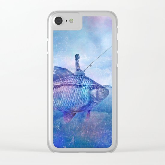 Fishing Clear iPhone Case