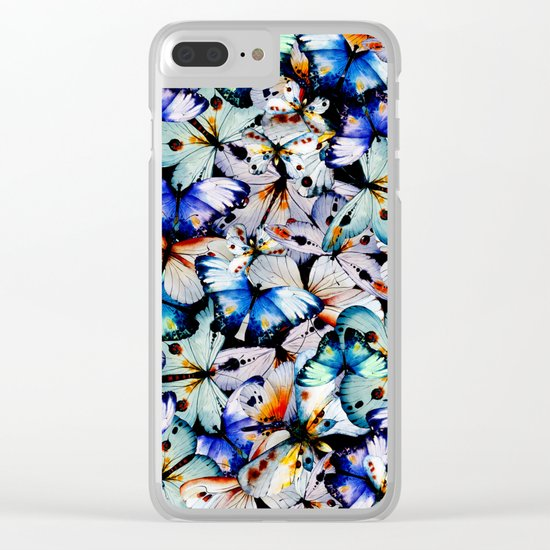 All of the Butterflies Clear iPhone Case