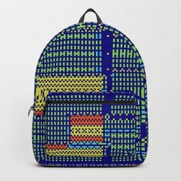 """""""Glitch"""" series #6 Backpack"""