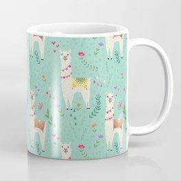 Festive Llama Coffee Mug