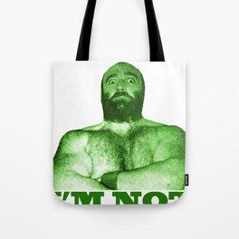 Memphis Wrestler Joe Leduc Tote Bag