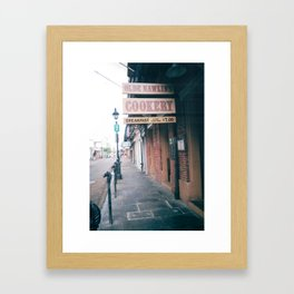 Nawlins Cookery Framed Art Print