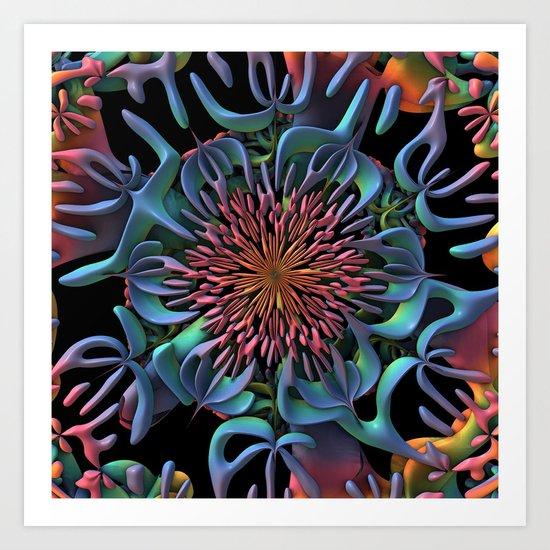 die Blume (the Flower) Art Print