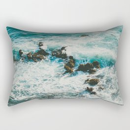Palos Verdes Surf Rectangular Pillow